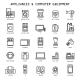 Household Appliances Icons - GraphicRiver Item for Sale