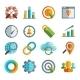 Business, SEO, Social Media Marketing Icons - GraphicRiver Item for Sale