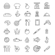 Cooking Icons - GraphicRiver Item for Sale