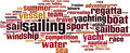 Sailing Word Cloud Concept - PhotoDune Item for Sale