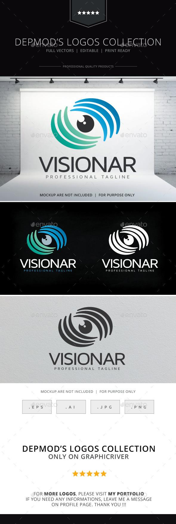 GraphicRiver Visionar Logo 10560669