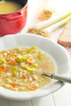 vegetable soup with pasta - PhotoDune Item for Sale