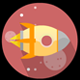 Space Rocket Animation - ActiveDen Item for Sale