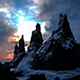 Iceland Troll Rocks in the Sea - VideoHive Item for Sale