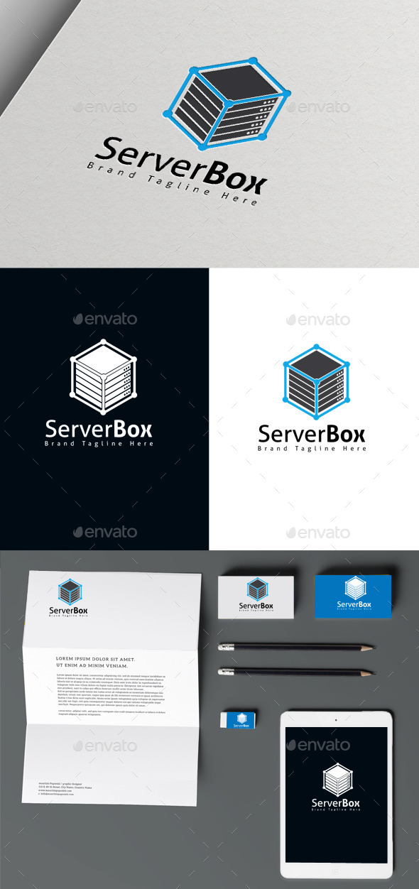 GraphicRiver Server Box 10560946