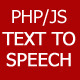 Text-To-Speech PHP/JS script converter - CodeCanyon Item for Sale