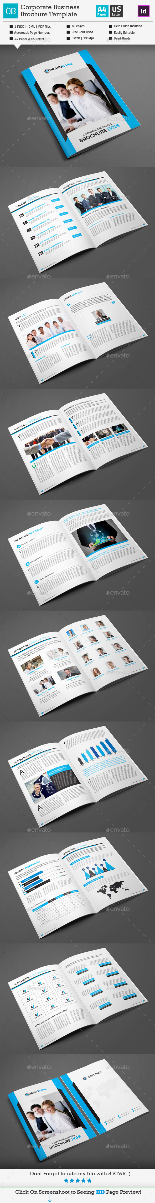 GraphicRiver Corporate Business Brochure 08 10561780