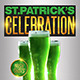 St Patricks Celebration Flyer Template - GraphicRiver Item for Sale