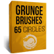 Grunge Brushes - 65 circles - GraphicRiver Item for Sale
