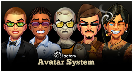 SOSFactory Avatar System
