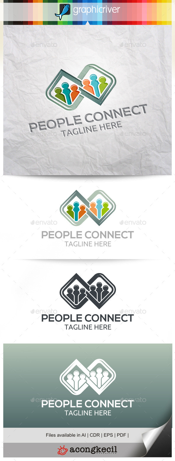 GraphicRiver People Connect 10563044