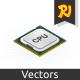 Isometric Processor - GraphicRiver Item for Sale