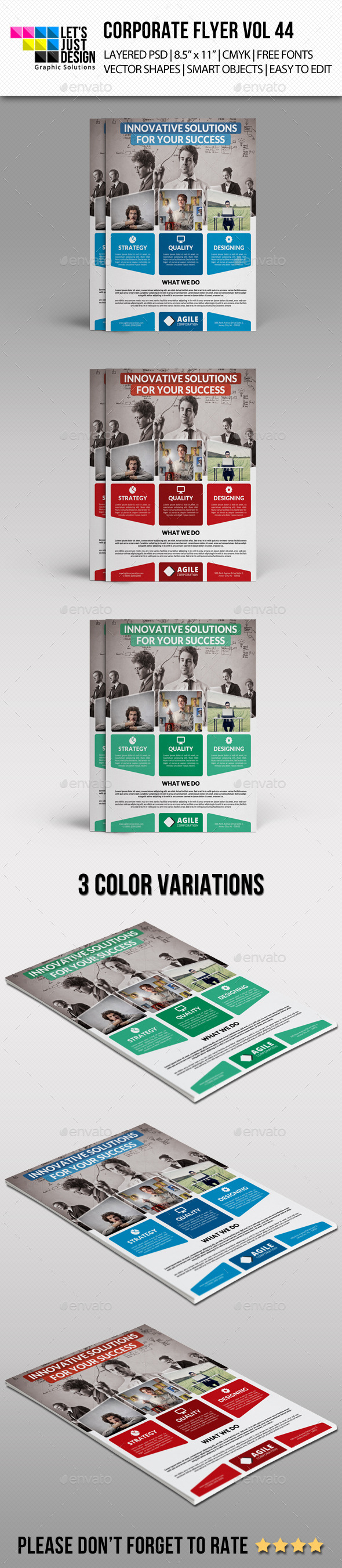 GraphicRiver Corporate Flyer Template Vol 44 10563515