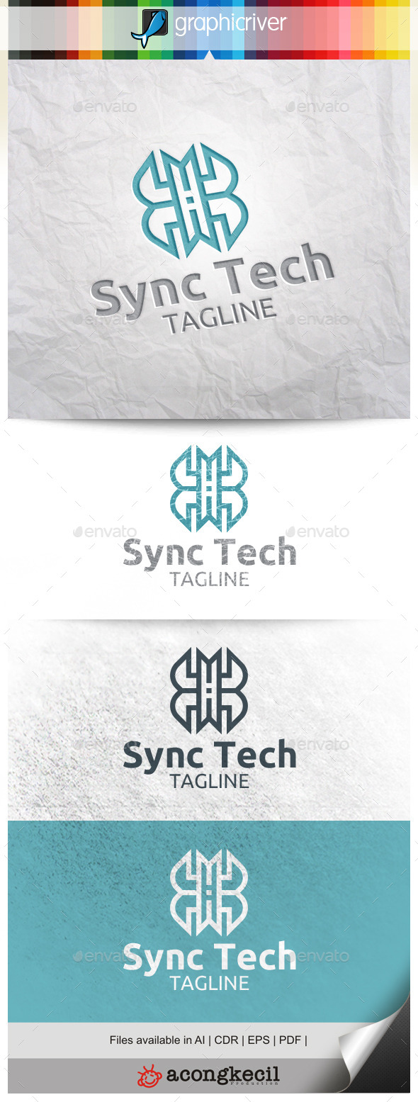 GraphicRiver Sync Tech 10563705