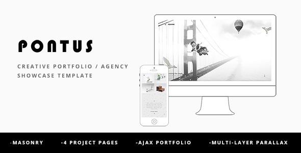 Pontus - Creative Portfolio / Agency Template