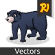 Black Bear Cartoon - GraphicRiver Item for Sale