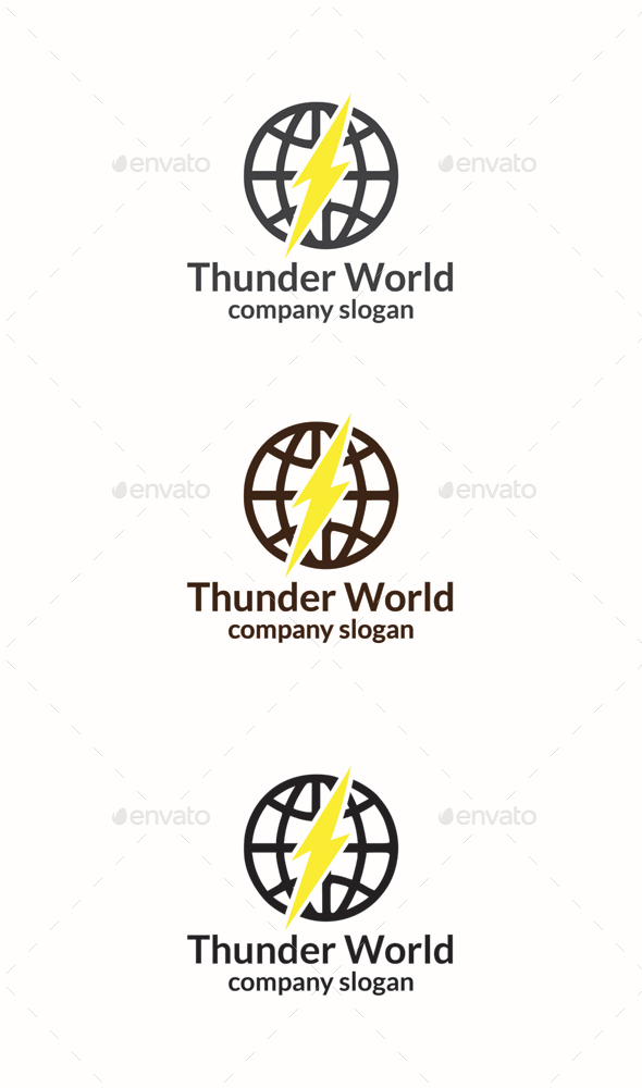 GraphicRiver Thunder World 10564051