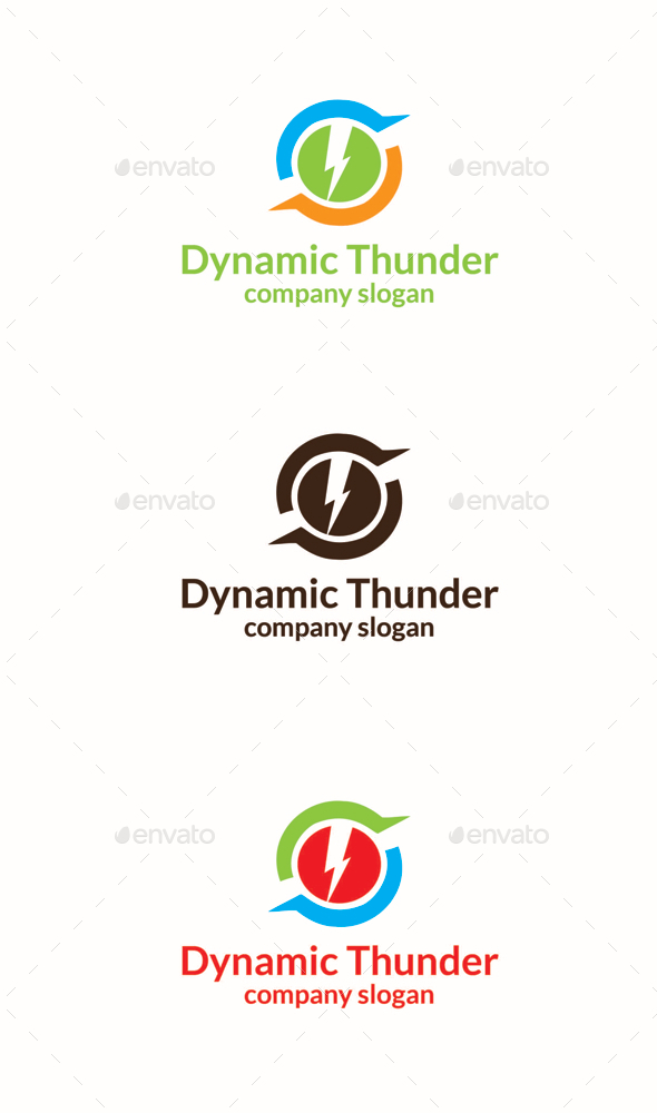 GraphicRiver Dynamic Thunder 10564053