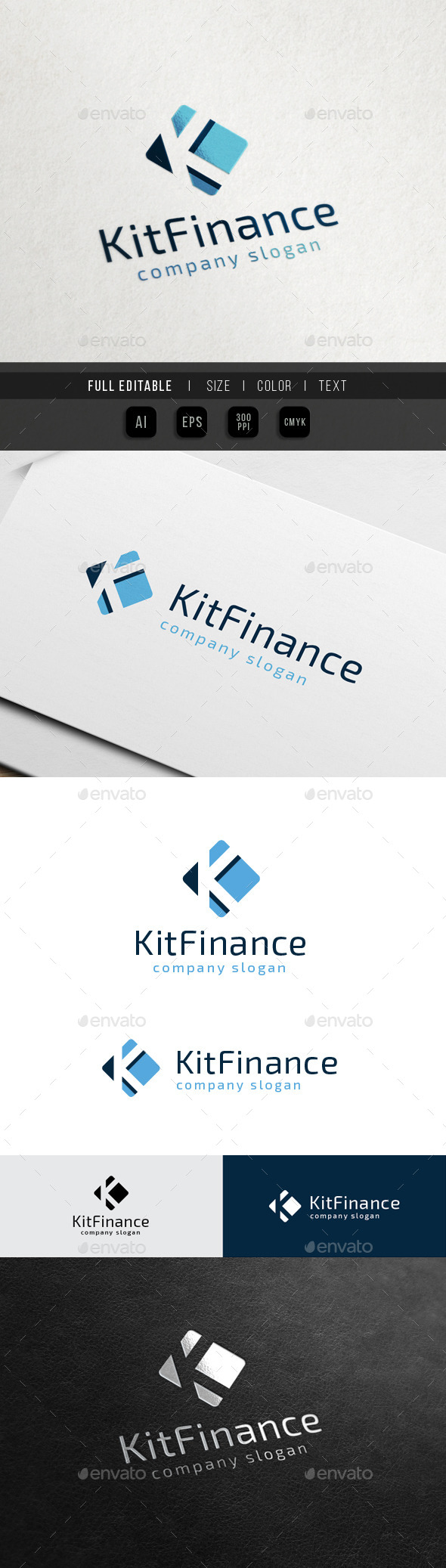 GraphicRiver Finance Marketing Letter K 10564055