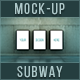 Lightbox Subway Mockups - GraphicRiver Item for Sale