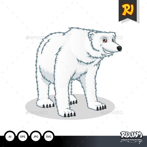 GraphicRiver Polar Bear 10564239