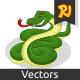 Snake Cartoon - GraphicRiver Item for Sale