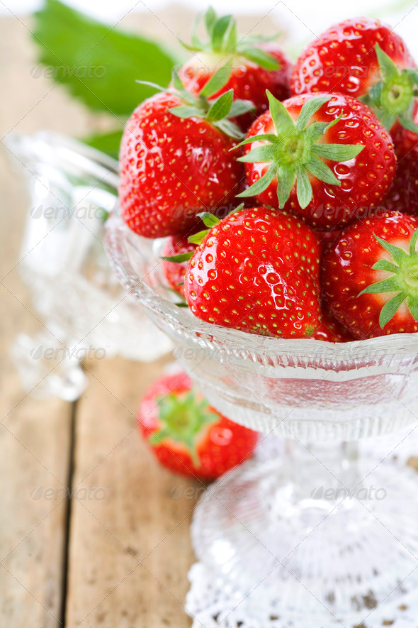 Fresh strawberries - Stock Photo - Images