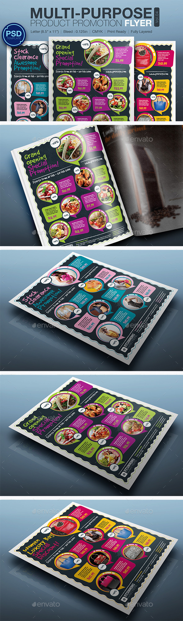 GraphicRiver Product Promotion Flyer Vol.04 10565453