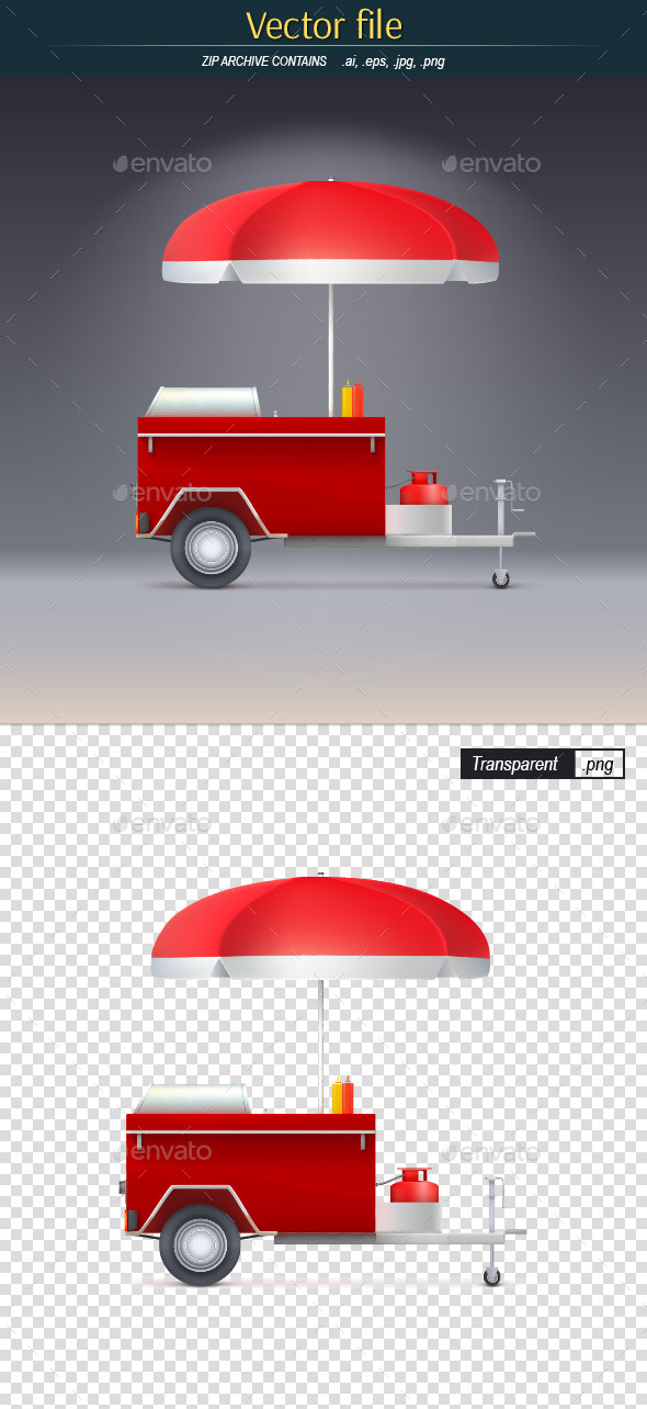 GraphicRiver Hot Dog Store 10565541