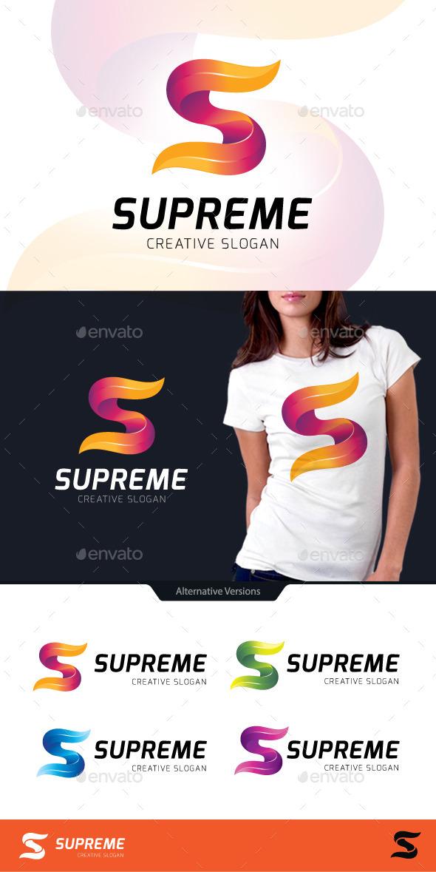 GraphicRiver Supreme Letter S Logo 10565578