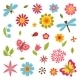 Flower Set  - GraphicRiver Item for Sale