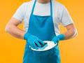 man washing dishes - PhotoDune Item for Sale