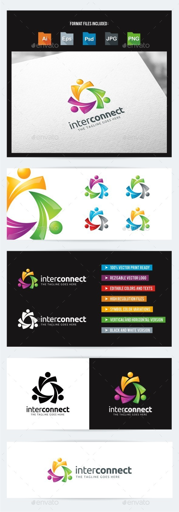 GraphicRiver Interaction Connection 10566821