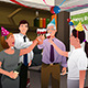 Employees in the Office - GraphicRiver Item for Sale