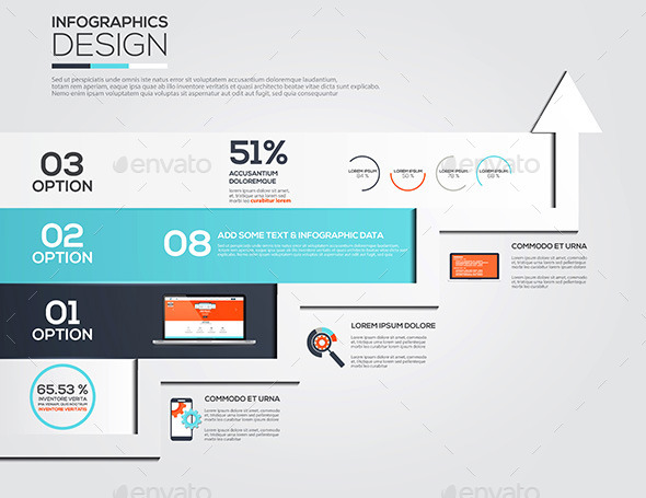 GraphicRiver Modern Design Minimal Infographic Template 10517585