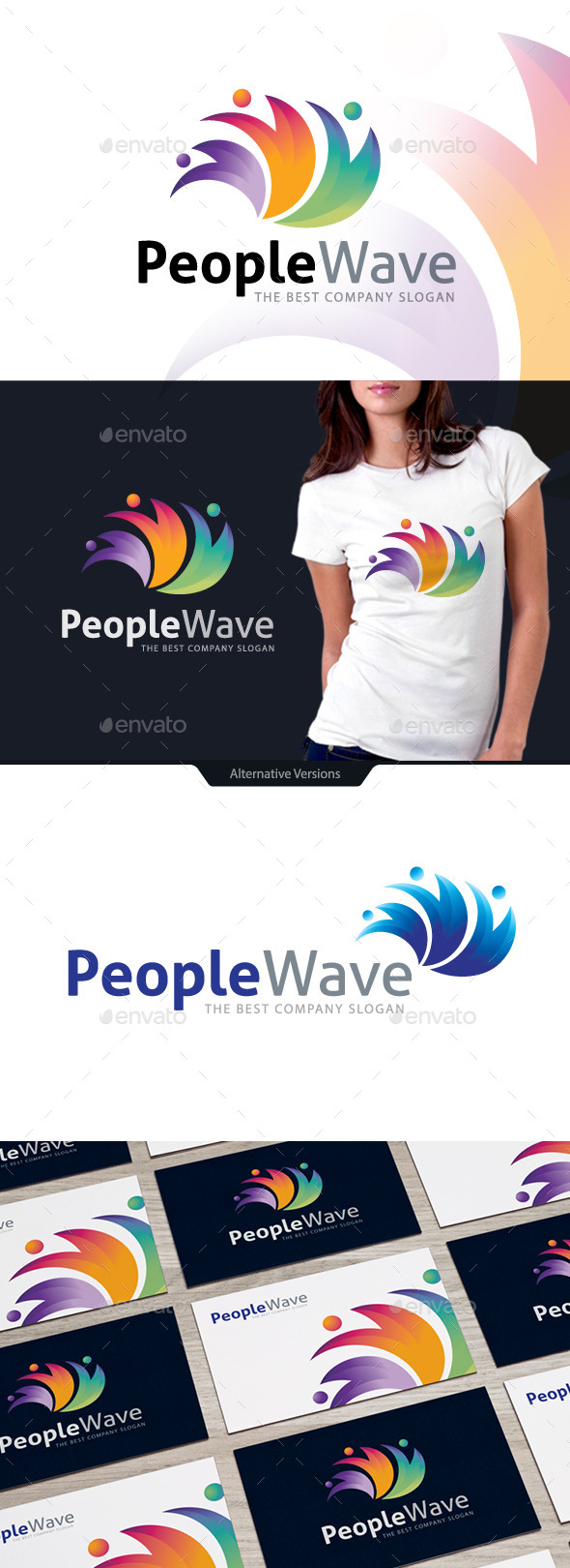 GraphicRiver People Wave 10567169
