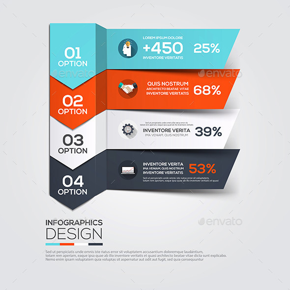 GraphicRiver Modern Design Minimal Infographic Template 10517521