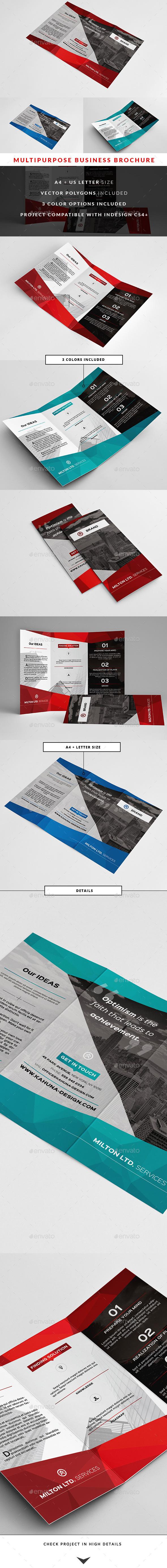 GraphicRiver Multipurpose Business Brochure 2 10567612