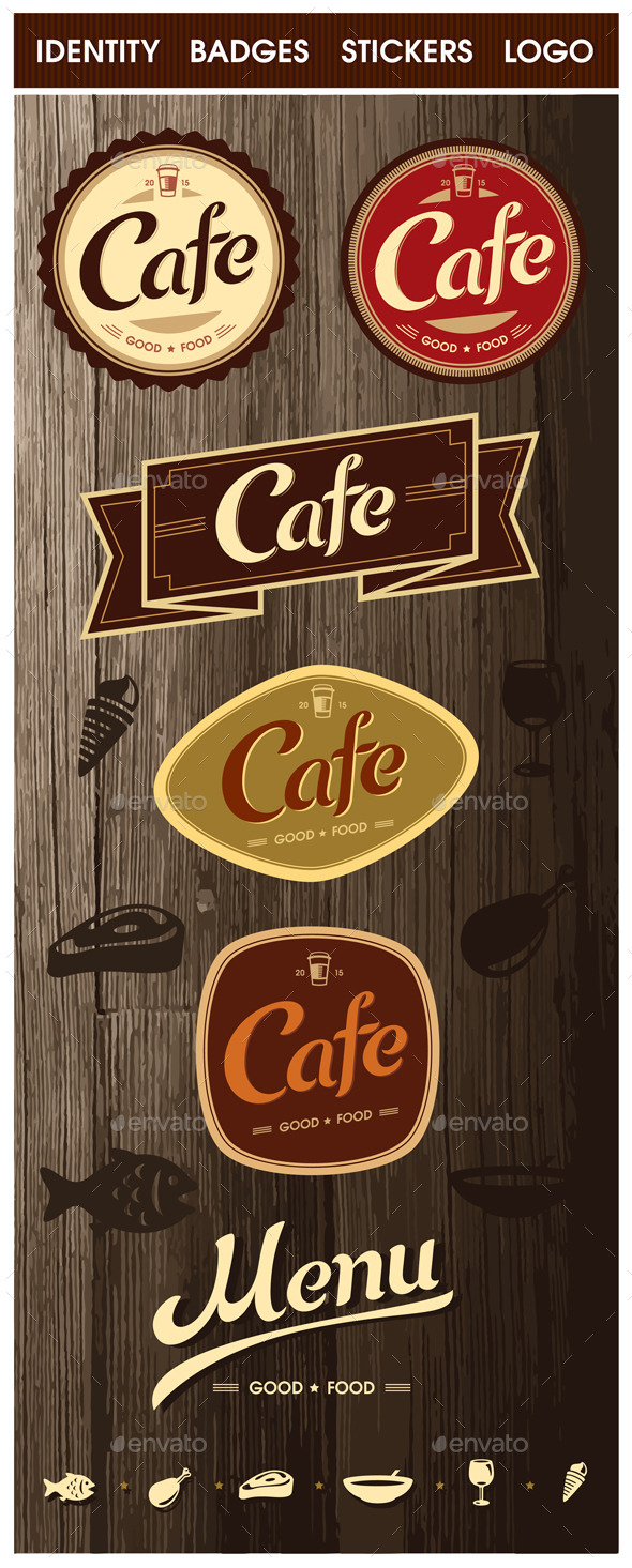 GraphicRiver Cafe Elements design 10568481