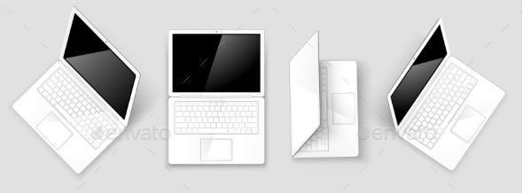 GraphicRiver Laptops 10568997