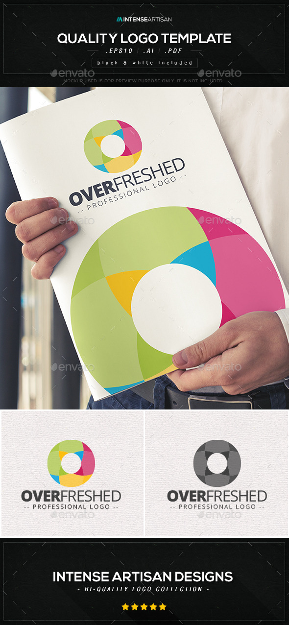 GraphicRiver Overfreshed Logo Template 10570230