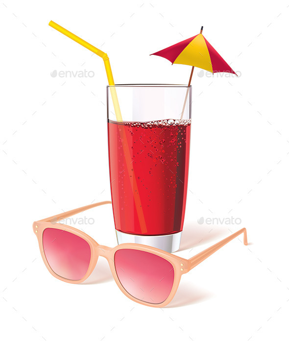 GraphicRiver Glass with Juice 10570253
