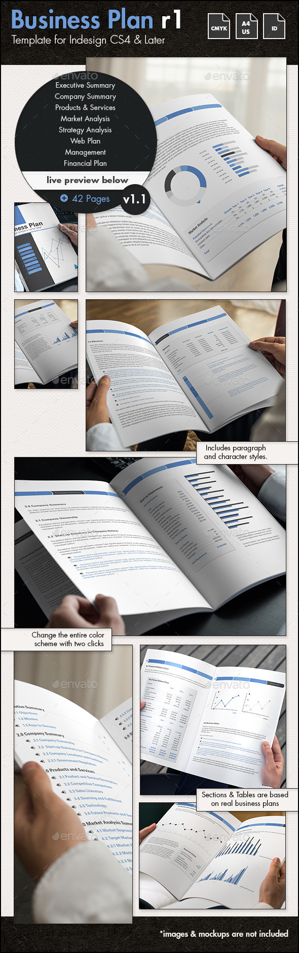42 Pages Business Plan Template