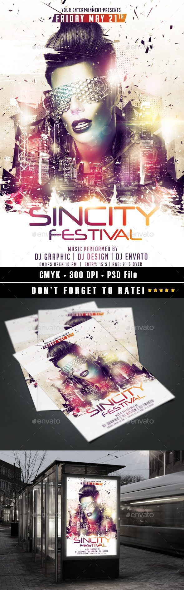 GraphicRiver Sincity Festival 10571074
