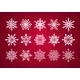 Set of Various Fine Lace Snowflakes for Christmas  - GraphicRiver Item for Sale