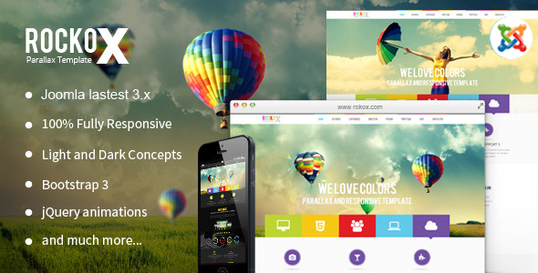 ThemeForest RockoX One Page Parallax 10571297