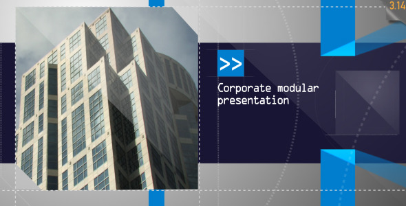 After Effects Project - VideoHive Corporate Modular Presentation 1065117