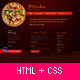 Il Paradiso, Pizza & Pasta Restaurant HTML+CSS - ThemeForest Item for Sale