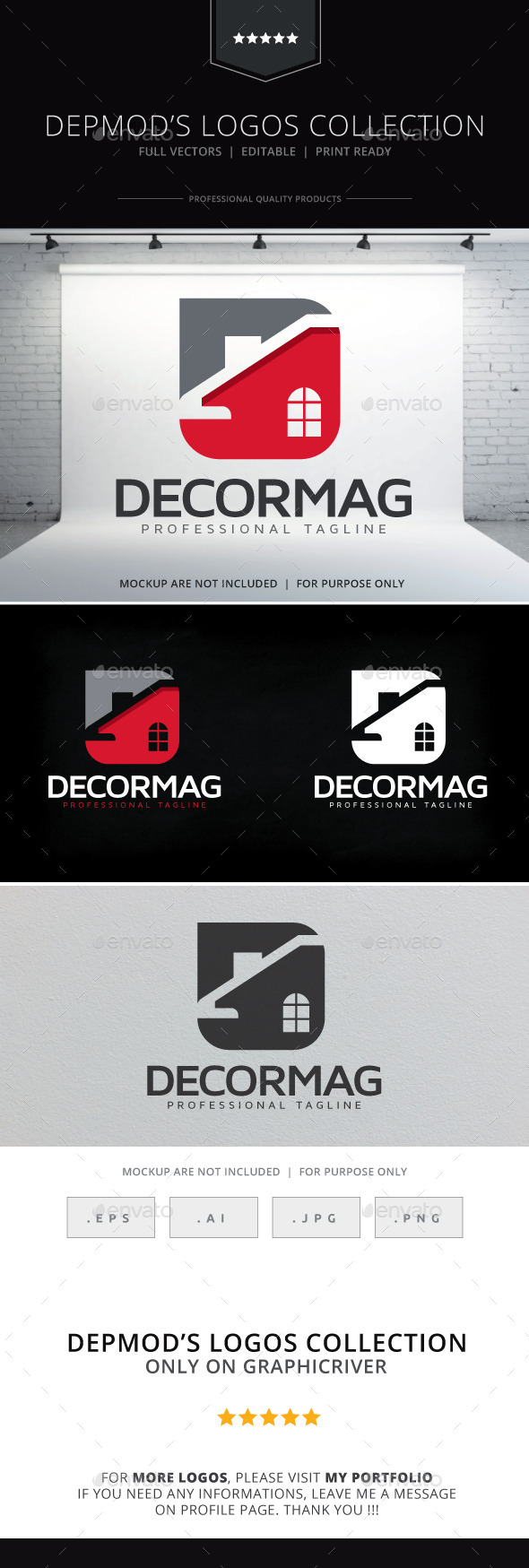 GraphicRiver Decormag Logo 10571581