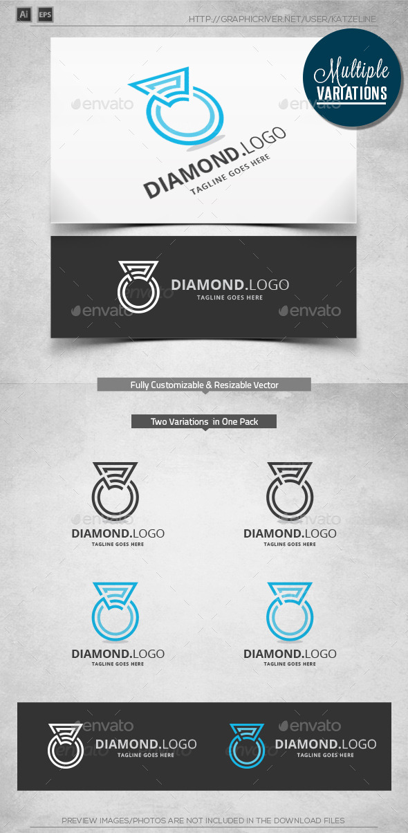 GraphicRiver Diamond Logo Template 10571742